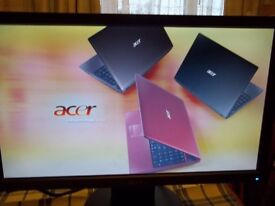 """ACER LCD 18.5"""" WIDESCREEN COMPUTER MONITOR V193HQV Bb VERY GOOD CONDITION FULLY WORKING"""