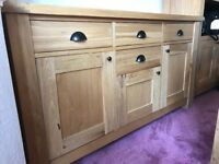 Solid oak furniture- Set or individual