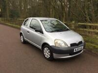 TOYOTA YARIS 2003,TOYOTA SERVICE HISTORY,HPI CLEAR