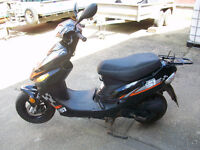 Longjia 50cc scooter , 1 owner from new , spares repair , 7k miles