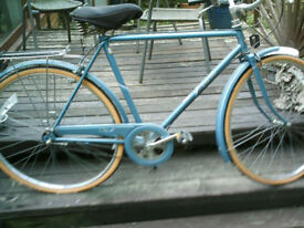 Raleigh City mens bicycle