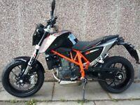 Very Low Mileage KTM 690 Duke ABS
