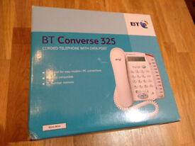 Home or desk landline phone BT data port as new boxed