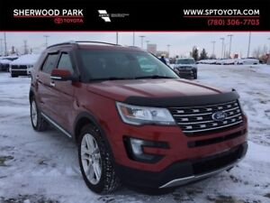 2016 Ford Explorer Limited 4 Wheel Drive! Winter Ready!