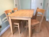 John Lewis Kitchen Table & Chairs