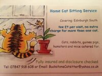 Cat Sitter - Edinburgh South, South West and City Centre