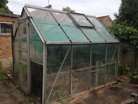 4 Greenhouses - various sizes and conditions. Need to be dismantled.