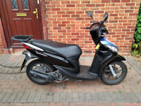 2015 Honda Vision 110 scooter, new 12 months MOT, low mileage, 1 owner, runs very well...like 125,,