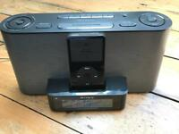 SONY Clock Radio iPod Speaker Dock - London EC2A/SE4