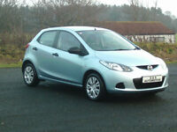 MAZDA2 1.3TS 5 DOOR 12 MONTHS M.O.T 6 MONTHS WARRANTY (FINANCE AVAILABLE)