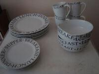 Plates / Crockery / Dinner service