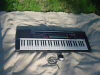 Casio keyboard, Casiotone CT-660, 5 octaves, numerous modes.