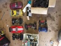 Rc nitro car job lot