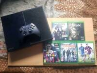 XBOX ONE CONSOLE 500GB WITH GAMES (OPEN TO OFFERS)