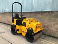 Benford tv120 drum roller, diesel, ready for work
