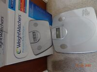 WEIGHTWATCHERS Electronic Scale analyser