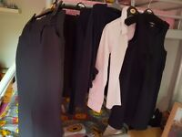 Girls navy school uniform 8 9