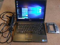 """Dell 14.1"""" Intel i5 Windows 10 Laptop 4gb Ram SSD Hard Drive"""