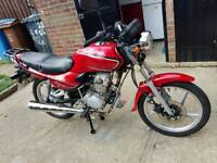 2014 lifan mirage 125 with 11 months mot and only 3000 miles from new