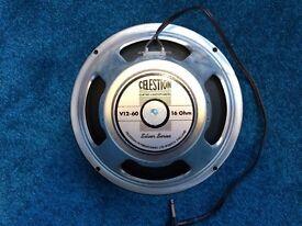 Celestion 12 inch Silver Series Guitar Speaker