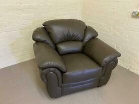 Leather chair Brand new (free delivery)