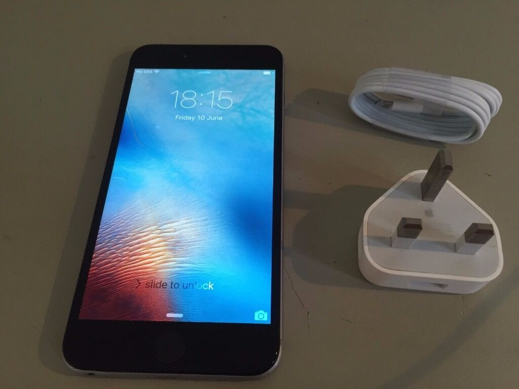 APPLE IPHONE 6 PLUS 64GB BLACK AND GREY ON O2 IN MINT CONDITIONin Lewisham, LondonGumtree - APPLE IPHONE 6 PLUS 64GB BLACK AND GREY ON O2 IN MINT CONDITION THIS GOT THREE MONTHS APPLE CARE COME WITH APPLE APPLE CHARGER IF YOU CAN SEE THIS MEANS L STILL HAVE IT PLEASE CALL 077 07 11 9599
