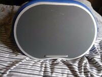 Round Ergonomic Lapdesk-Blue SOFIA AND SAM (SOFIA+SAM)