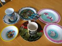 Kids plates and bottles