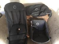 Bugaboo cameleon push chair limited edition denim