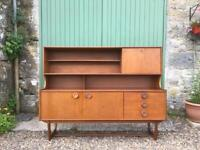 Retro / Mid Century Teak Sideboard. Delivery possible.