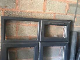 Double glaze grey brand new window