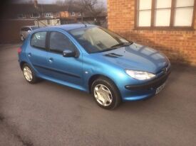 2001 PEUGEOT 206 1.4 AUTOMATIC 1 OWNER