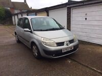 Renault scenic expression 16V for sale, MOT, drives well.