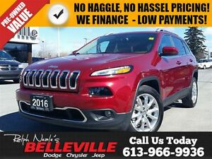 2016 Jeep Cherokee Limited-Navigation-Safety tec Group