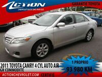2011 Toyota Camry LE AUTO AIR GR.COMMODITÉ  1 PROPRIO