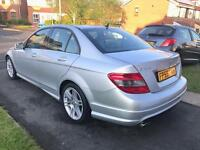 2009 59 Mercedes Benz C Class C200 2.1 CDI AMG SPORT EDITION AUTOMATIC DIESEL LOW MILES ONLY 68K
