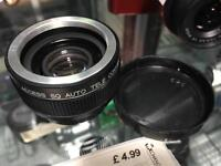 Access SQ auto Tele converter 2X Camera lens