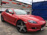 Mazda RX-8 1.3 192Ps Full Service History, Long MOT Just Been Serviced, 4 New Tyres, 2Keys