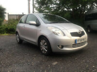 Toyota Yaris 1.3 VVT-i T3 3dr hpi clear/ finance available/ 3 month engine and gearbox warranty
