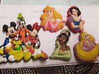 DisneyLand Paris Fridge Magnets Unwanted - 4 x Princesses, Mickey, Minie & Donald Duck for £5