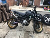 Yamaha XT 125 X 125cc Motorbike super moto scrambler on / off road dirt bike