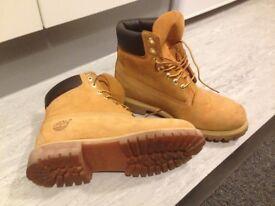 Yellow Timberland Boots Men