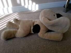 Soft dog plush
