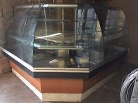 Refrigerated Corner Display Unit
