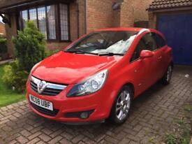 Vauxhall Corsa 1.2sxi 2008 86k