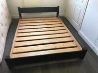 Warren Evans modern low profile bed frame