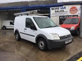 2009 white ford transit connect t220swb van roof rack & pipe tub 7m mot ready for work px welcome