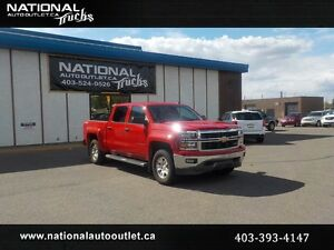 2014 Chevrolet Silverado 1500 LT Crew Cab Leather Level Kit
