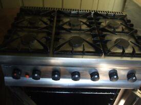 Lincat gas cooker