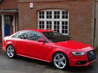 2013 (13) Audi A4 3.0 TDI Black Edition S Tronic Quattro 4dr - 1 OWNER - HUGE SPECIFICATION
